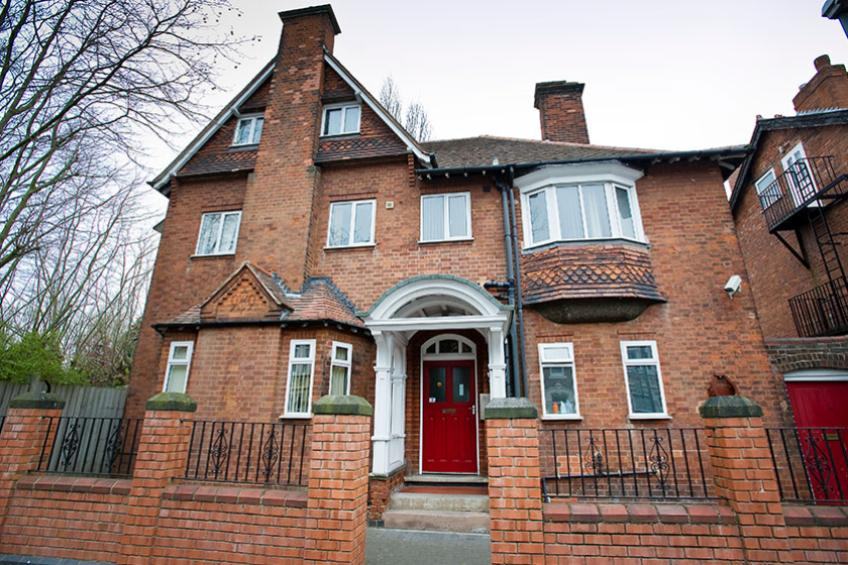 The exterior The Old Vicarage, part of the Vulnerable Adults Supported Housing