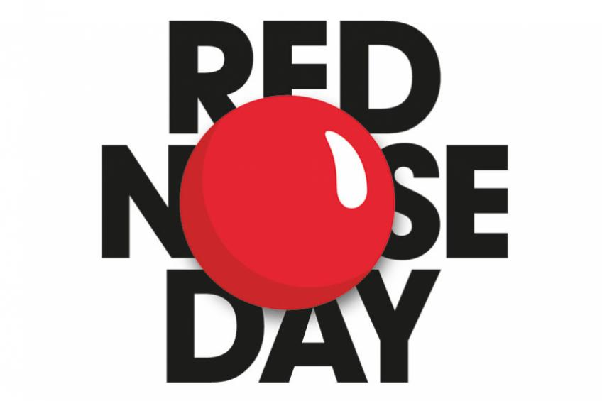 A picture of Sanctuary services come together for Red Nose Day