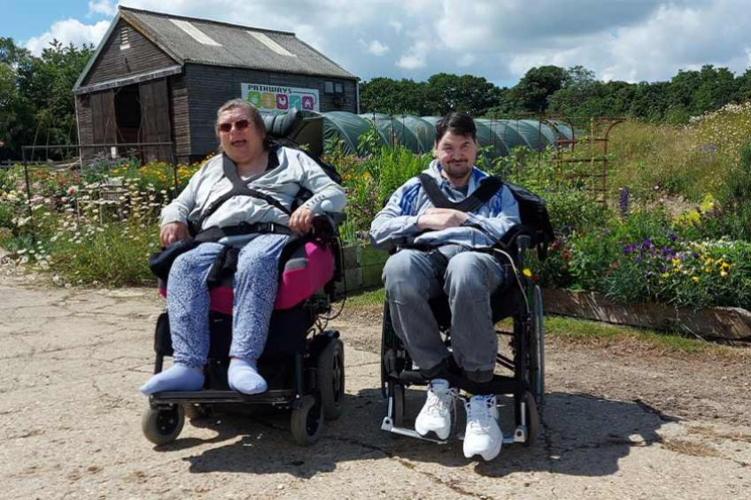 A picture of A taste of farming life for Lowestoft disability service