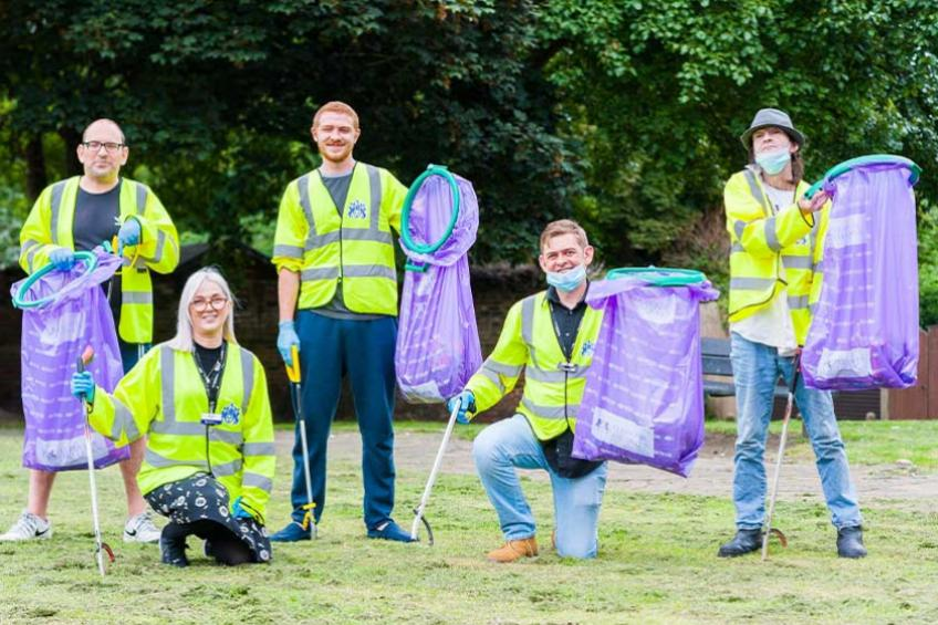 A picture of It's a clean sweep for Merchant's Terrace residents