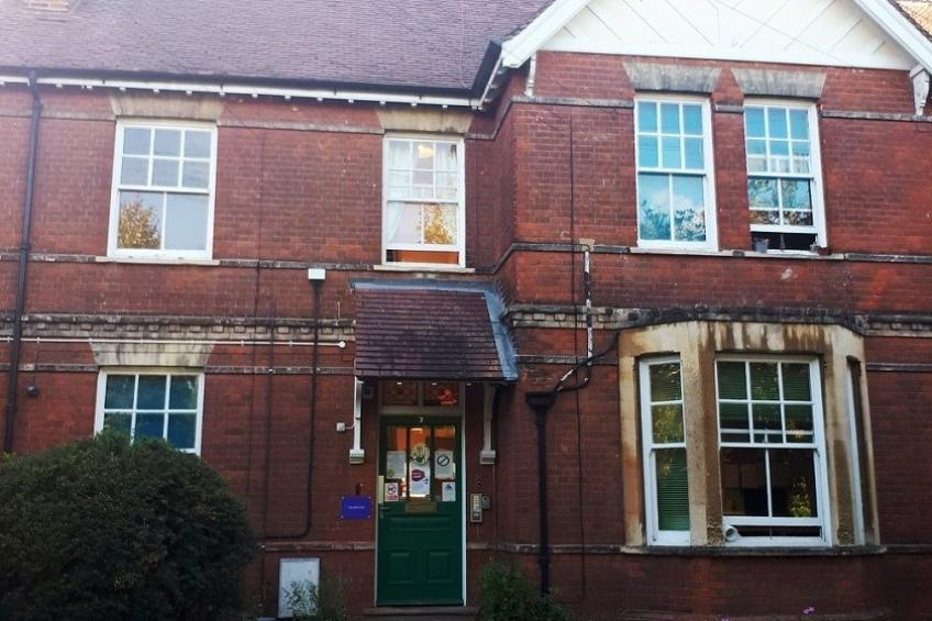 The exterior of Bury St Edmunds Homeless Supported Housing