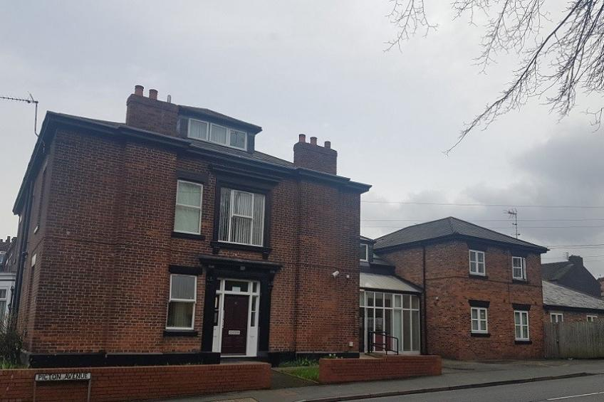 The exterior of Halton Road disability supported housing service