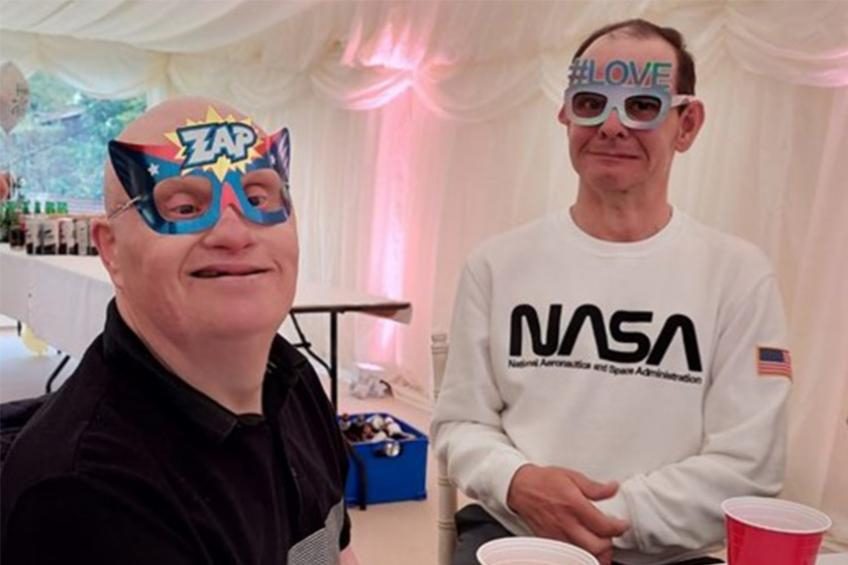A picture of Newlyweds raise money for essential learning disability service