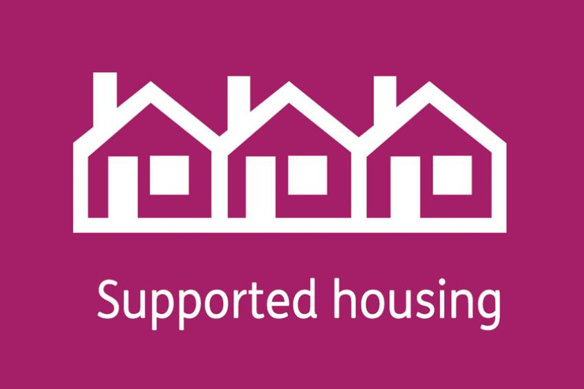 Supported housing terraced houses