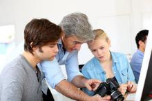 A picture of Young Ipswich residents snap up photography training