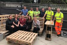 A picture of Kent garden revamp at homeless service