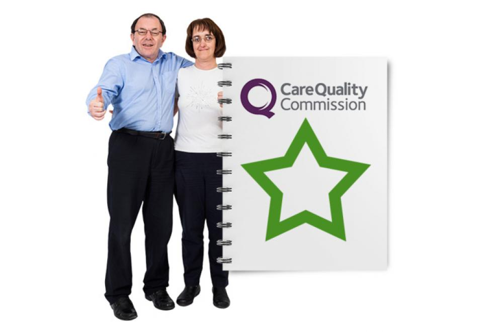 Celebrating an outstanding CQC report
