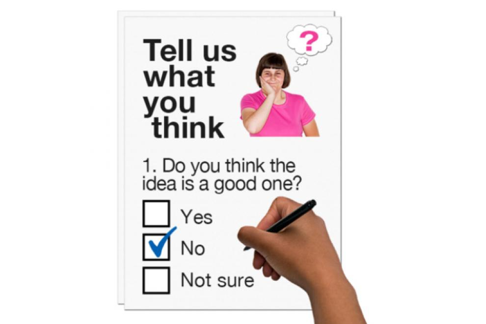 Tell us what you think questionnaire