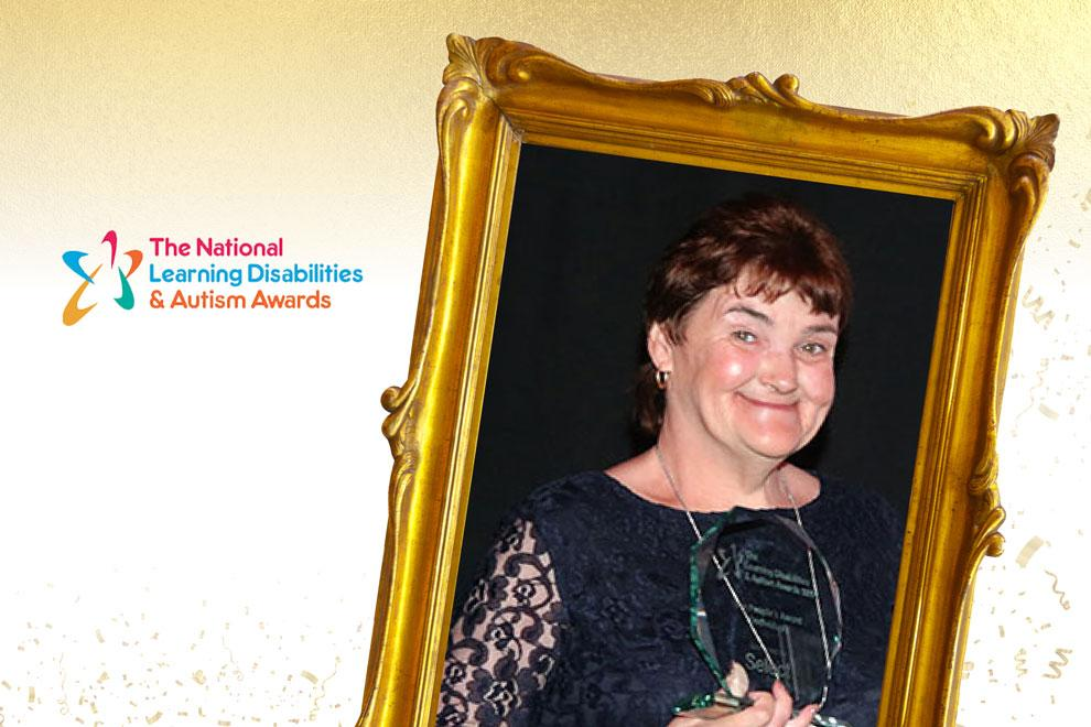 Our resident, Maria, won a National Learning Disability award.
